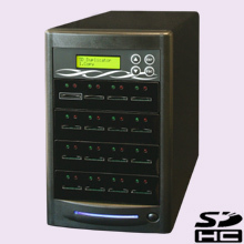 CopyBox 15 Secure Digital Duplicator - meerdere sd secure digital memory cards gelijktijdig dupliceren duplicators sdhc micro sd geheugen
